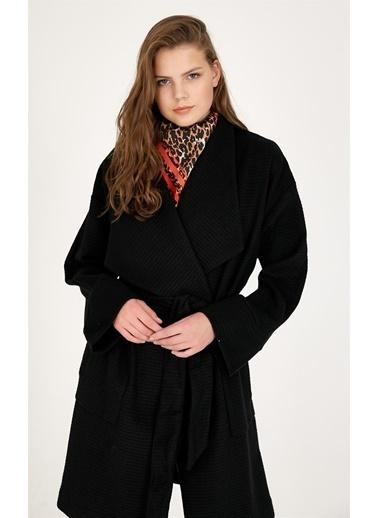 Setre Palto Siyah